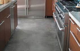 concrete kitchen floor info insights apartment therapy