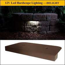 led hardscape lights for retaining wall light guangdong delight