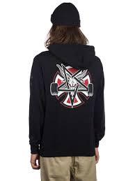 100 Independent Trucks Hoodie Buy X Thrasher Pentagram Cross Online At Blue