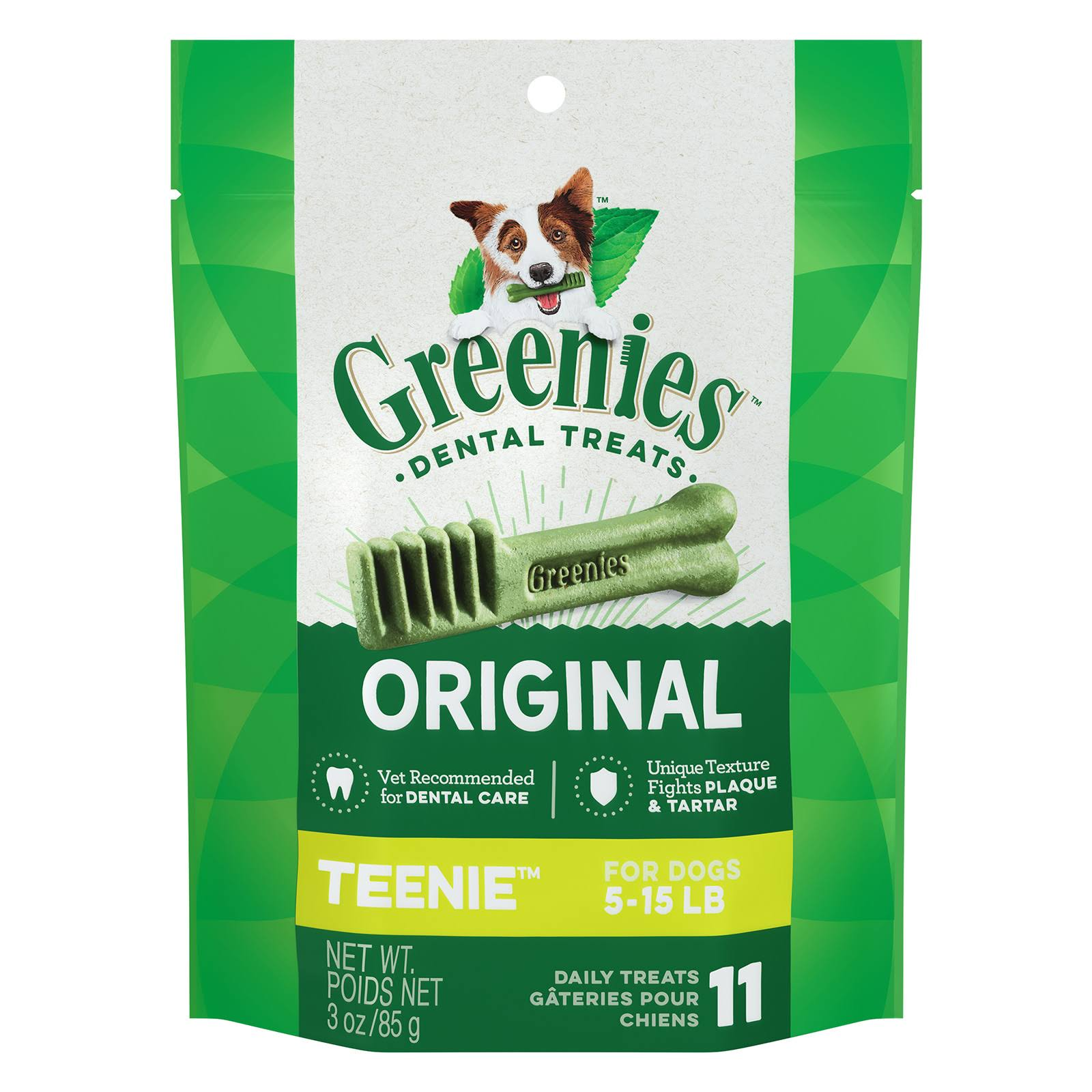 Greenies Original Teenie Dental Dog Treats - 3oz