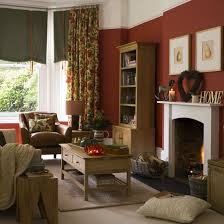 Country Style Living Room Ideas Images On Pinterest Paint Colors Samples And Red Wall Stained Amazing