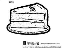 malvorlage kuchen kostenlose ausmalbilder zum ausdrucken