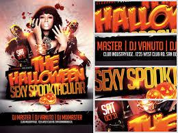 Free Halloween Flyer Templates by Halloween Spooktacular Flyer Template Flyerheroes