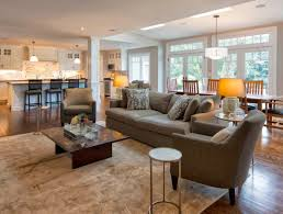 Tuscan Wall Decor Ideas by Living Room Open Space Craftsman Style Living Room Excellent