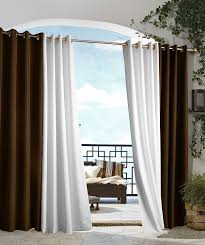 Amazon Curtain Rods Long by Amazon Com Outdoor Decor Gazebo Grommet Outdoor Curtain Panel