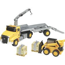 CAT 23in. Machine Truck With Trailer, Working Skid Steer And Pallets ... Emek 89548 Scania Distribution Truck With Trailer Posti Robbis 89226 Red Hobby Shop Remote Control Rc Tractor Trailer Semi Truck 18 Wheeler Style 3d Cgtrader Silo 187 Scale Minizoo Heavy With Stock Image I5371779 At Featurepics 120 Pick Up And Fishing Boat Set Walmartcom Tank Photo 671219 Alamy Curtainside Dcara1 Stobart Club Hyundai Xcient Simple Lego Technic Moc 4k