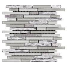 Jeffrey Court Mosaic Tile by Jeffrey Court Fresh Taffy 12 In X 12 25 In X 8 Mm Glass Metal