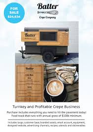 100 Food Truck Equipment For Sale Batter Crepe Company Trailer Near Denver Colorado