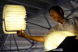 Lumio Unfolding LED Book Lamp