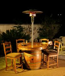 Living Accents Patio Heater by Wood Work Oak Barrel Coffee Table Plans Pdf Plans Bubba U0027s