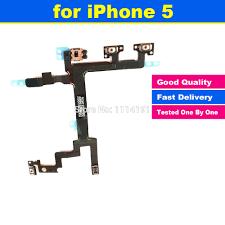 Nowy Oryginalny dla iPhone 5 5G Moc Mute Przycisk Głośności Złącze