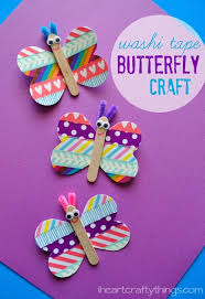 Butterfly Crafts For Preschoolers Creative Activities Kids Images Day On Crepe Paper Craft Ideas