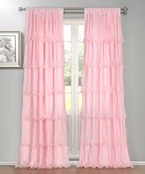 Pink Ruffle Blackout Curtains by 28 Light Pink Ruffle Blackout Curtains Best 25 Ruffled