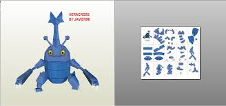 Pokemon Papercraft Templates 163300