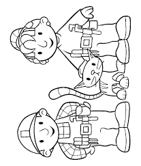 Bob The Builder Coloring Page 20 Pages