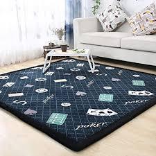 hmbbdt teppich dicker flanell teppich als krabbeldecke