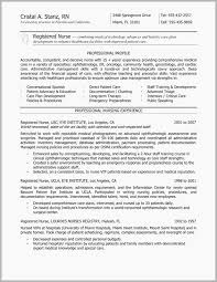Experienced Nursing Resume Examples Free Download Rn Sample Unique