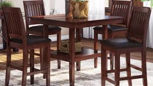 5 Piece Counter Height Dining Room Sets by Elegant Stanton Cherry 5 Pc Counter Height Dining Room Sets Of