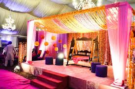 Pakistani Wedding Decoration Ideas Best Stage Trendy Mods Simple Outdoor Reception