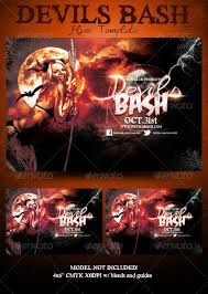 Free Halloween Flyer Templates by Devils Bash Halloween Flyer Template By Mrkra Graphicriver