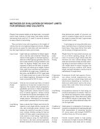 100 Truck Axle Weight Limits Chapter Three Methods Of Evaluation Of For