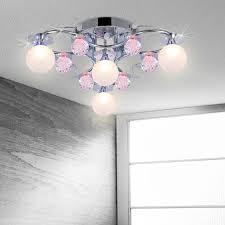 led deckenle wohnzimmer schlafzimmer leuchte farbwechsel 4 flammig