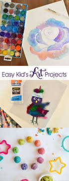 Simple Craft Ideas With Household Items Crafts For Kids To Do At Home Creative Activities Toddlers
