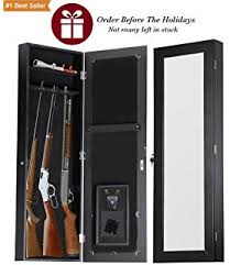 Homak Gun Cabinets Canada by Amazon Com Homak Ws00018002 Security Between The Studs Long Wall