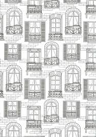 FREE Printable Balcony Coloring Page