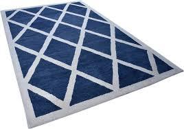 wollteppich royal design theko rechteckig höhe 14 mm reine wolle rauten design wohnzimmer kaufen otto