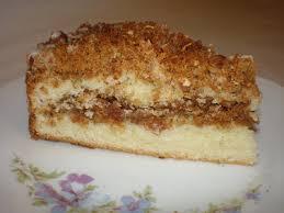 Walnut Streusel Coffee Cake