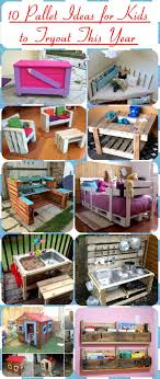 10 Pallet Ideas For Kids To Tryout This Year
