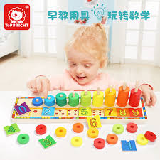 USD 4018 Girl baby building blocks toys 12 years old digital