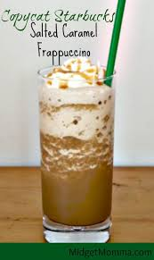 Salted Caramel Frappuccino Starbucks Drink Copycat Recipe That Is Easy To Make At Home And Tastes Just Perfect This My