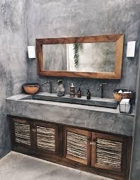 kühle 36 moderne rustikale badezimmer dekor ideen gurudecor