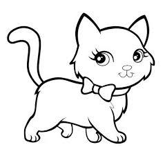 Inspiring Cat Color Pages Best Coloring Design