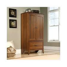 wardrobes sauder beginnings wardrobe storage cabinet oregon oak