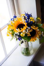 Royal Blue & Sunflower Yellow} Summer Wedding