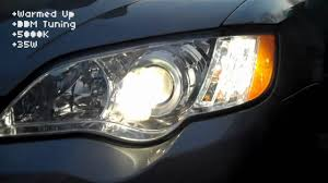 2009 subaru legacy gt led hid conversion