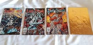 Lady Death Judgement War 1 2 And Prelude Odyssey Chaos Comic