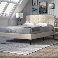 Wood Platform Bed Frame Queen by Platform Queen Size Beds You U0027ll Love Wayfair