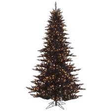Black Christmas Tree Image