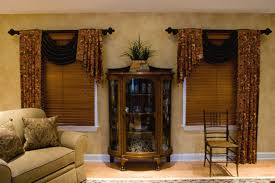 Valances Curtains For Living Room by Living Room Interesting Twin Windows Which Has Light Brown