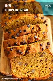 Cake Mix And Pumpkin Puree Muffins by 1 Bowl Vegan Pumpkin Bread Recipe Vegan Richa