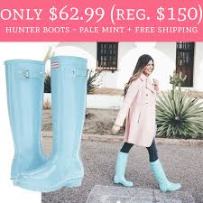 Only $62.99 (Regular $150) Hunter Boots - Pale Mint + FREE ... Up To 40 Off Kids And Womens Hunter Boots Extra 15 Over 30 Free Shipping The Krazy Summer Sale To 50 Additional 20 Barstool Sports Promo Code Seatgeek Wendys Canada Food Coupons Boot Coupon Coupons For Sport Chalet Online Boot Sock Moosejaw Buy Online At Overstock Our Best Original Tall Socks Australian Company Hdfc Credit Card Offer On Playpennies Last Chance Discount Codes Thoughts Some Of Jack Puller