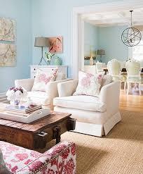 amazing blue pastel living room ideas