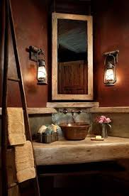 Photos Of Primitive Bathrooms by Best 25 Rustic Bathroom Sinks Ideas On Pinterest Rustic Cabin