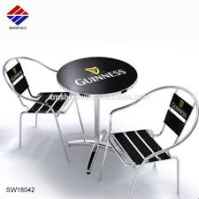 Outdoor Aluminium Chrome Bistro Dining Table And Chair With Branded Custom  Logo For Beer Cafe Restaurant Patio Commerical Use - Buy Outdoor Dining ... 2019 Bistro Ding Chair Pe Plastic Woven Rattan 3 Piece Wicker Patio Set In Outdoor Garden Grey Fix Chairs Conservatory Clearance Small Indoor Simple White Cafe Charming Round Green Garden Table Luxury Resin China Giantex 3pcs Fniture Storage W Cushion New Outdo D 3piece For Balcony And Pub Alinum Frame Dark Brown Restaurant Astonishing Modern Design Long Dwtzusnl Sl Stupendous Metalatio Fabulous Home Tms For 4