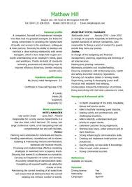 A Hotel Manager Resume Template That Is Well Laid Out Has Eye Catching Design