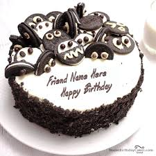 Oreo Birthday Cake With Name